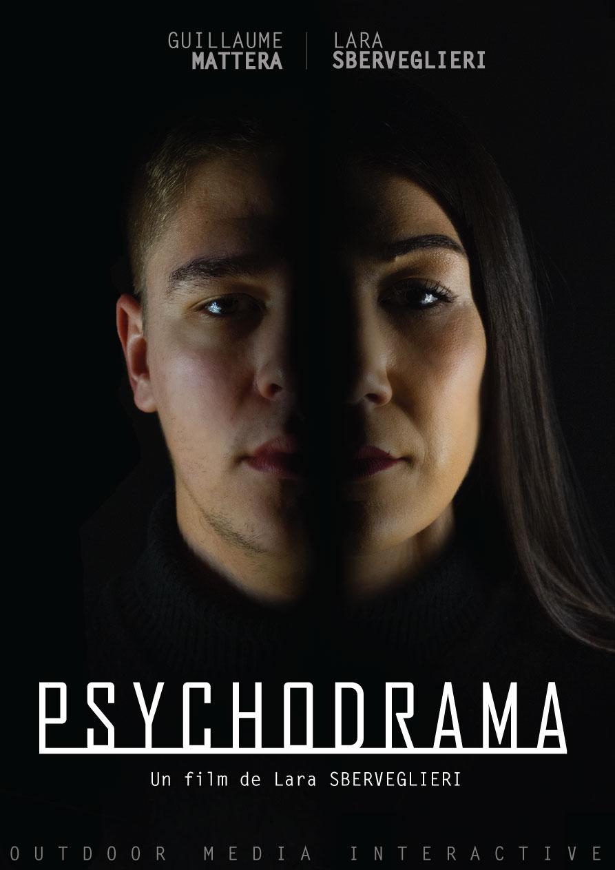 Affiche pour le film psychodrama