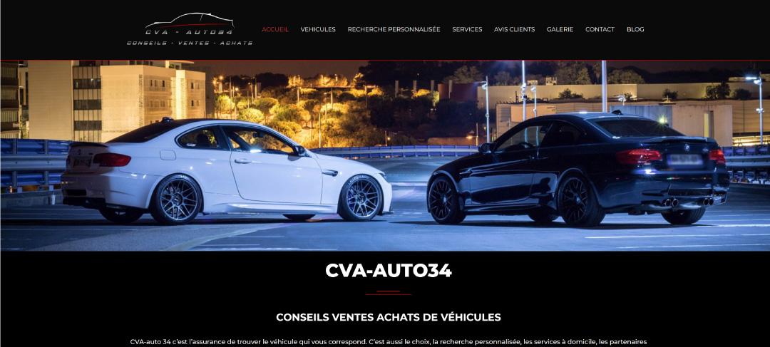 cva auto site web