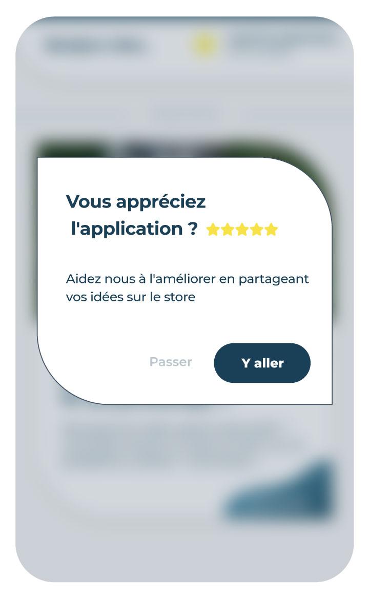 plan de taggage et notification in app