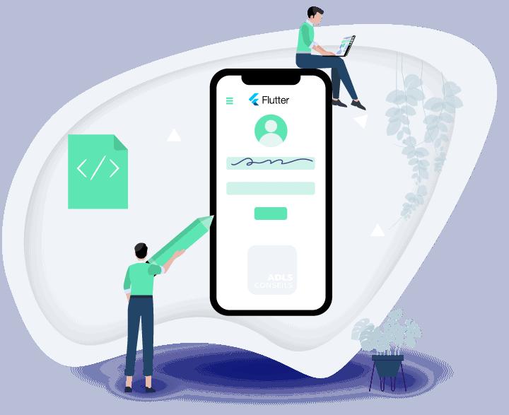 développer une app avec flutter (google)
