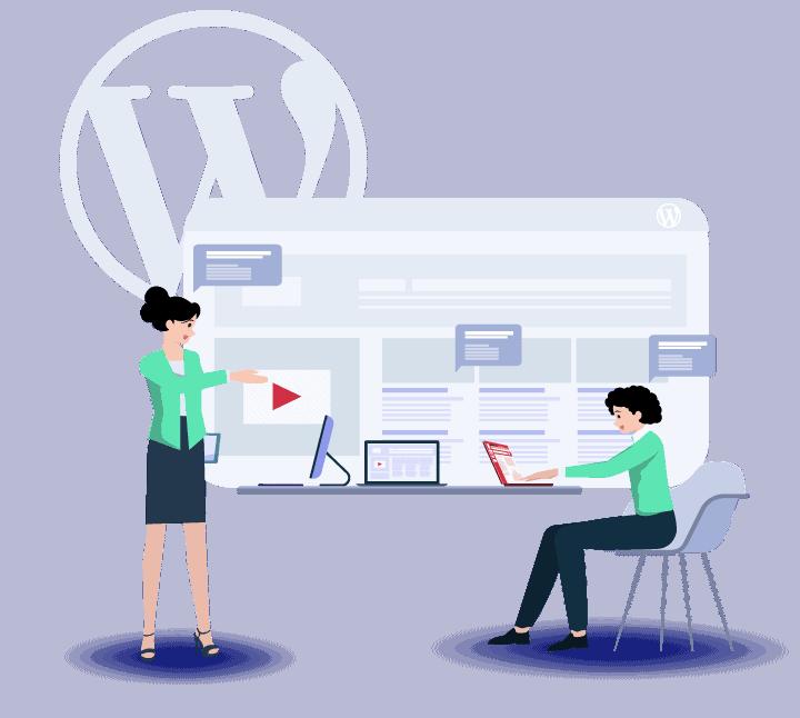 Conception de site avec wordpress