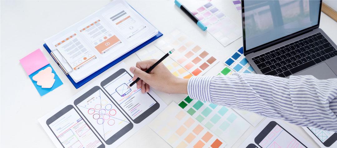 dessiner le design UX et UI
