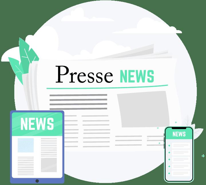Communication presse et média