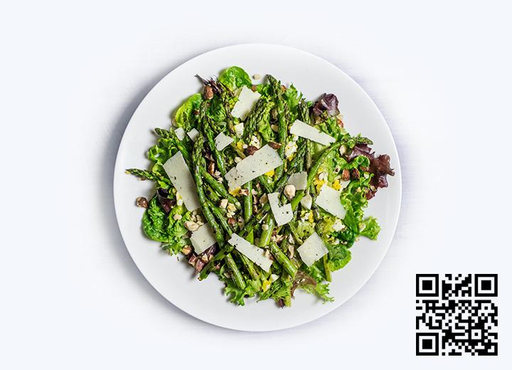 menu de restaurant QR code