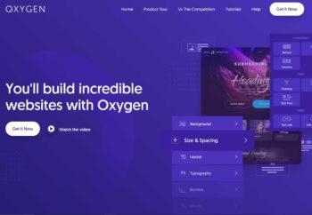 Oxygen builder fait respirer wordpress